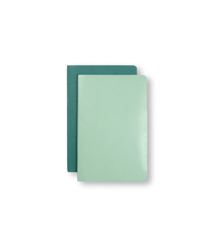 A6 Sage and Seaweed Green Moleskine Pocket Volant