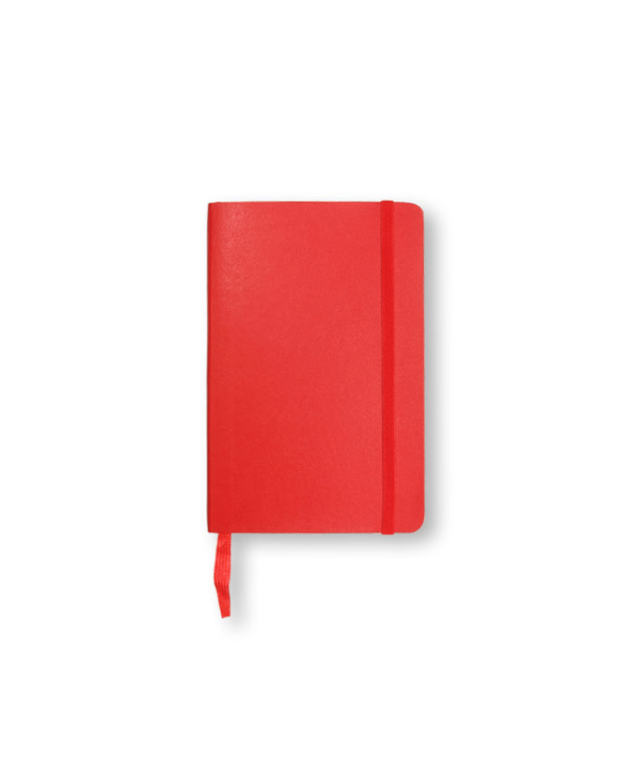 A6 Scarlet Red Moleskine softcover notebook