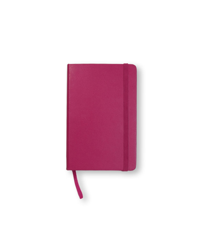 Pocket Snappy Pink Moleskine Weekly Diary Planner Hardcover