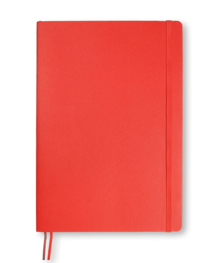 B5 Red Leuchtturm1917 softcover notebook