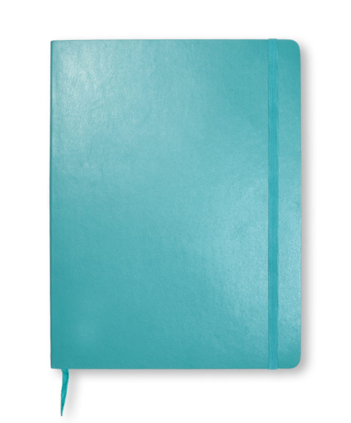 A4 Reef Blue classic softcover Moleskine notebook