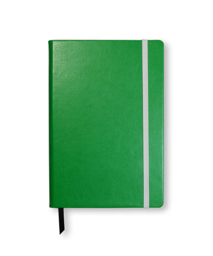 A5 Apple Swatch custom coloured notebook