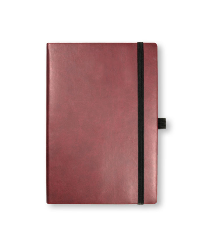 A5 Burgundy Veleta notebook