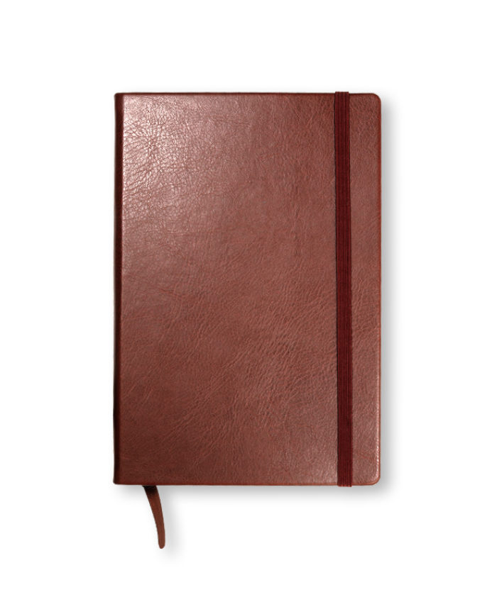 A5 Chestnut Swatch custom coloured notebook