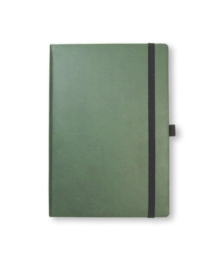 A5 Green Veleta notebook