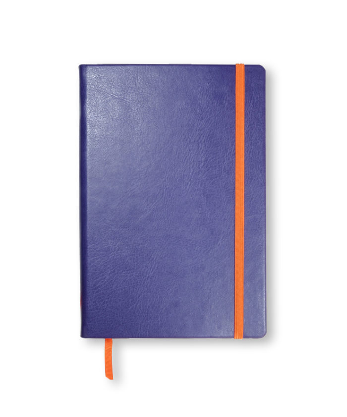 A5 Purple Swatch custom coloured notebook