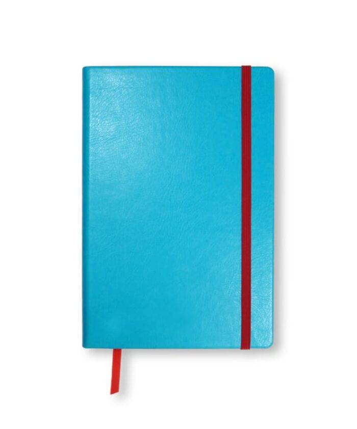 A5 Sky Blue Swatch custom coloured notebook