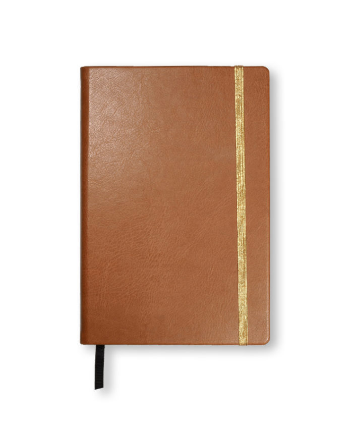 A5 Tan Swatch custom coloured notebook
