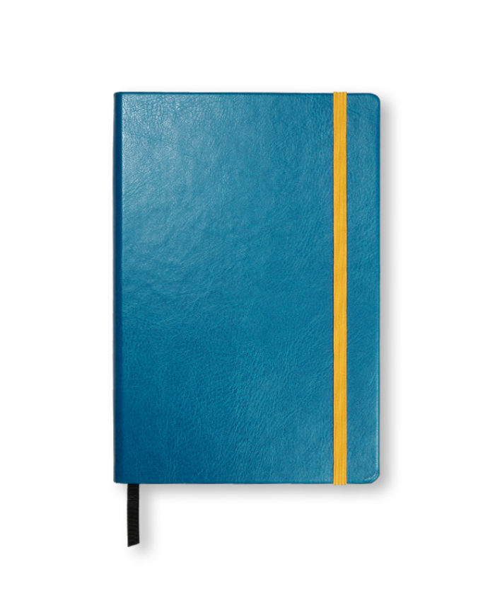 A5 Turqouise Swatch custom coloured notebook