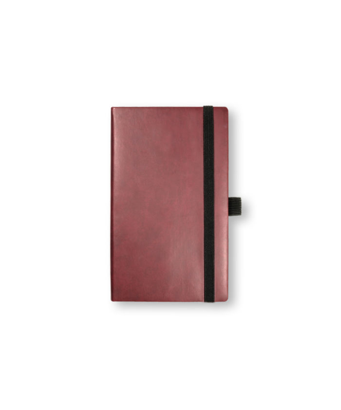 A6 Burgundy pocket Veleta notebook