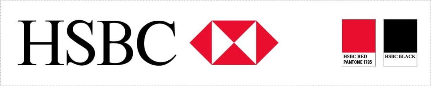 HSBC Pantone example
