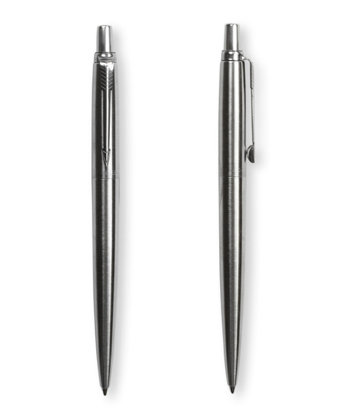 Stainless steel Parker jotter