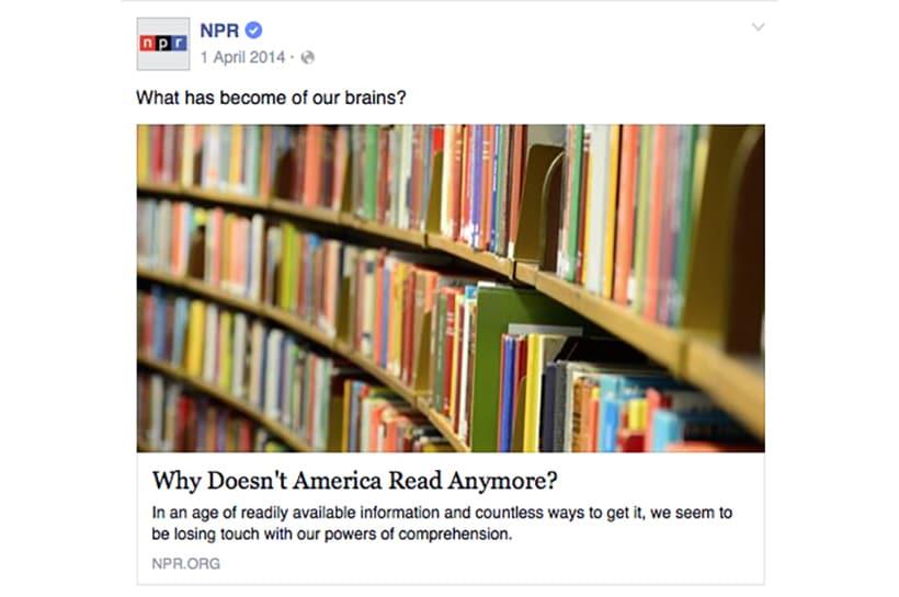 NPR's April Fool