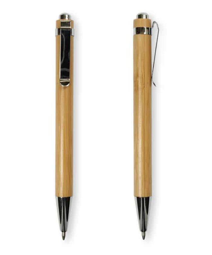 Bamboo click ballpoint pen