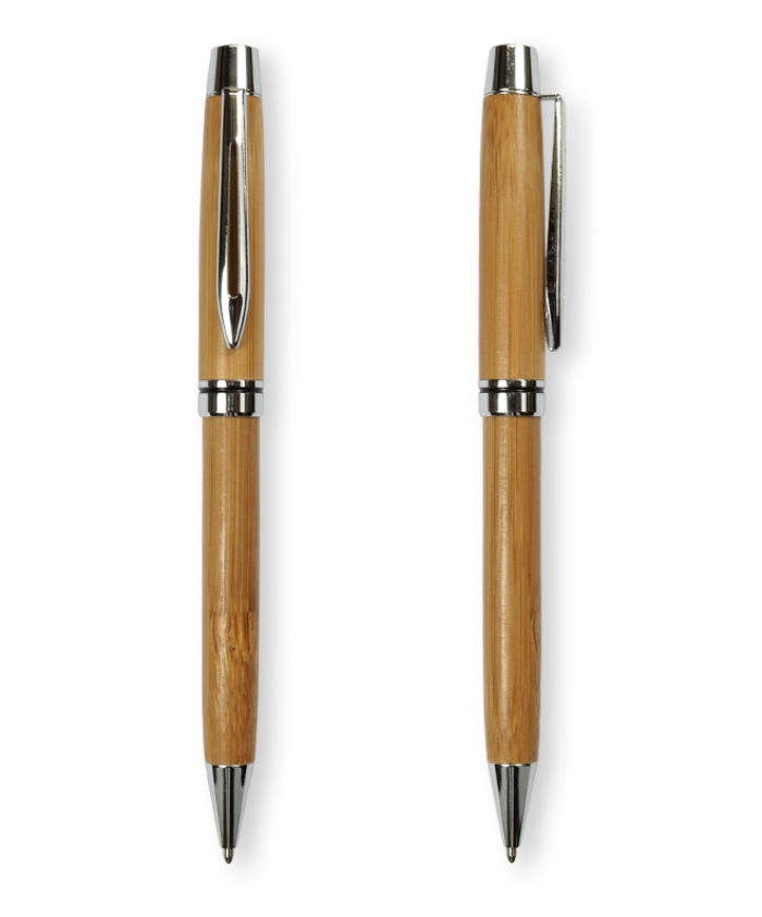 Bamboo twist pen