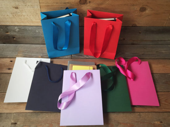 Personalised Gift Bags A5 Size