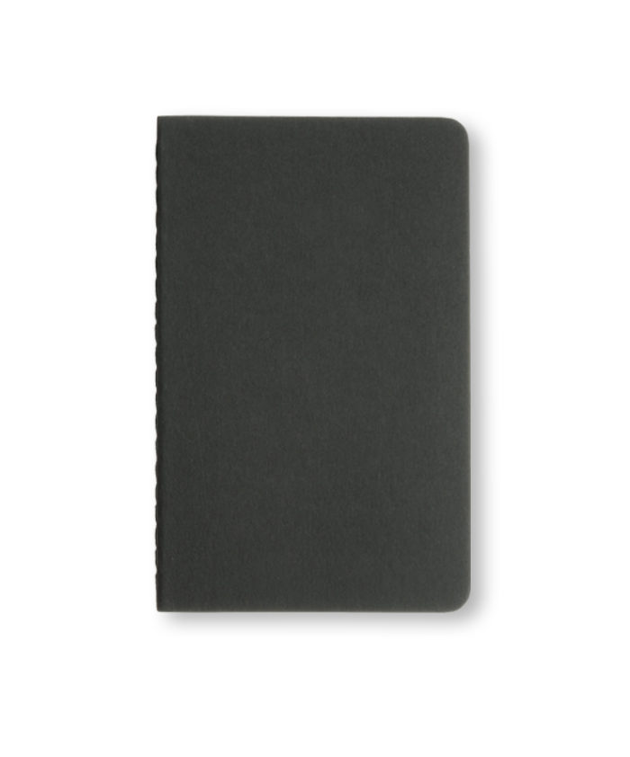 A5 Black Moleskine cahier notebook