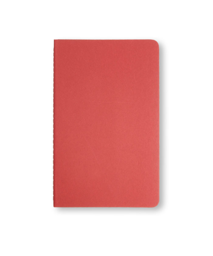 A5 Cranberry Red Moleskine cahier notebook