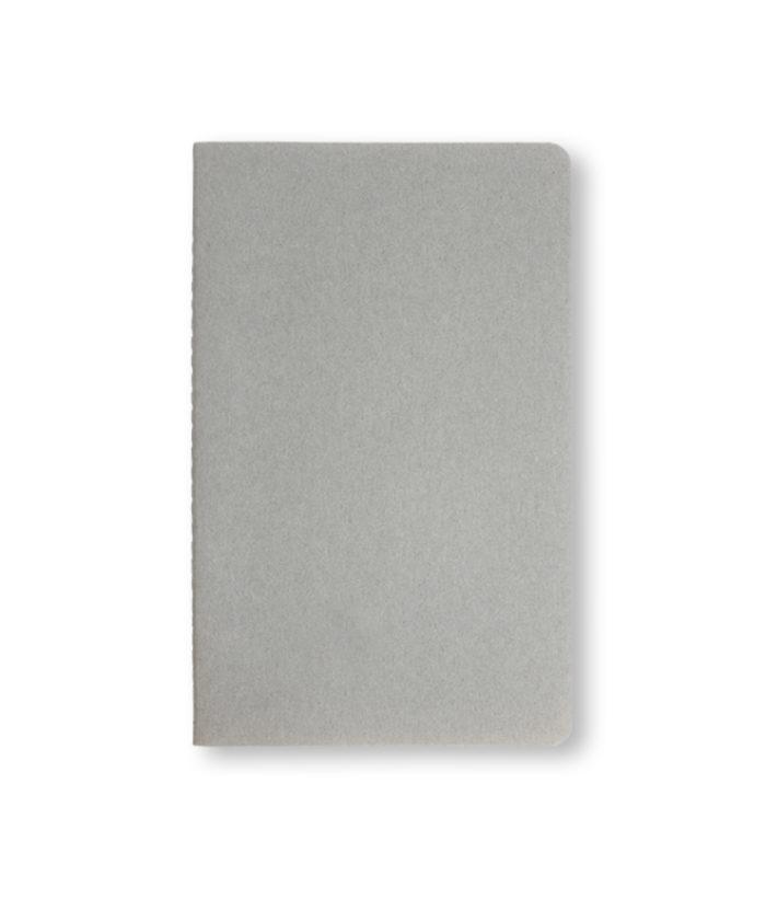 A5 Pebble Grey Moleskine cahier notebook
