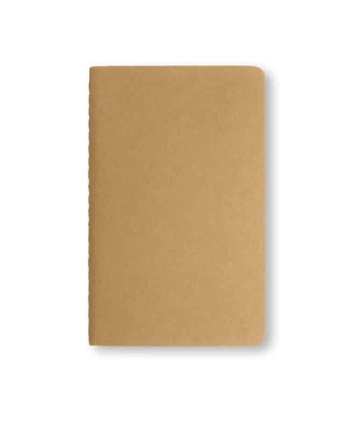A5 Kraft Moleskine cahier notebook