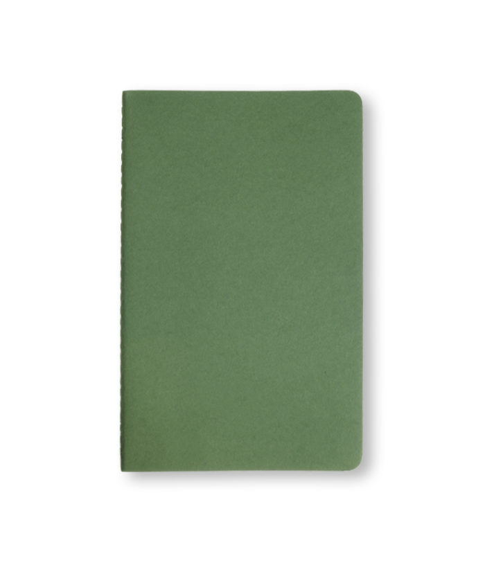 A5 Myrtle Green Moleskine cahier notebook