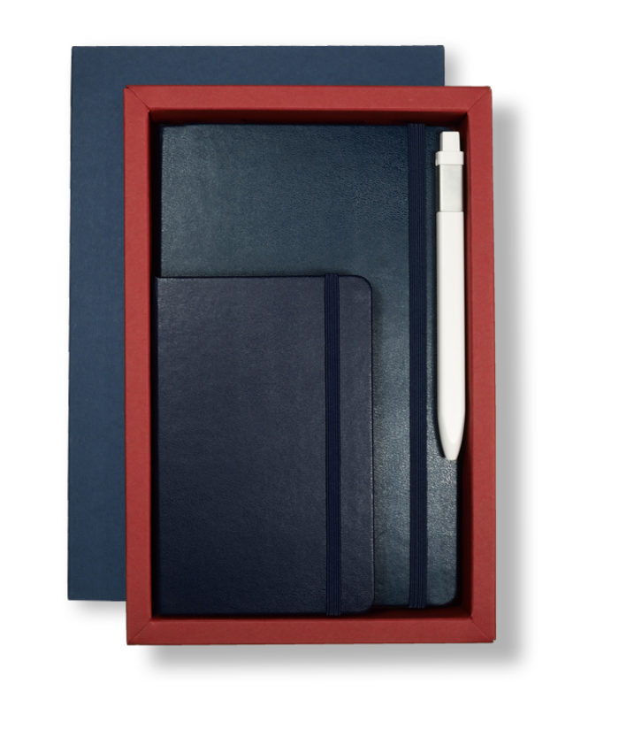 A5 Blue/Red Moleskine Deep Tray Case