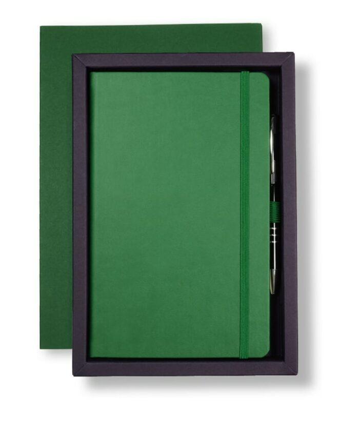 A5 Green/Purple Castelli Pen Tray Case
