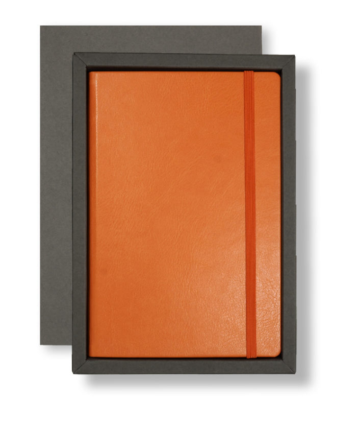 A5 Grey/Orange Swatch Tray Case