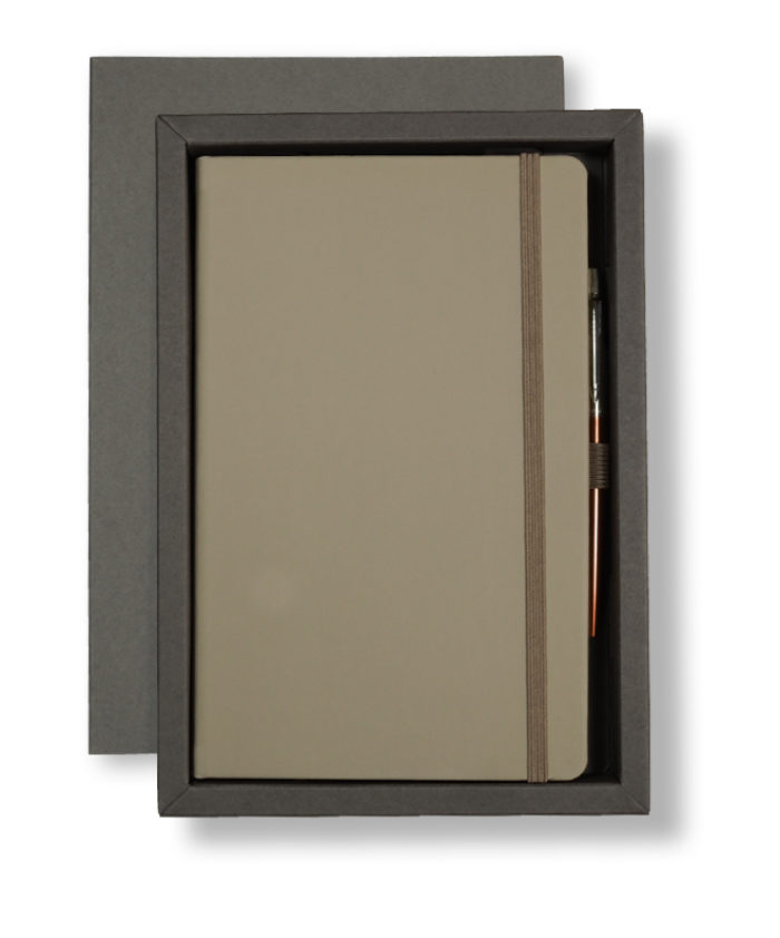 A5 Grey/Grey Castelli Pen Tray Case