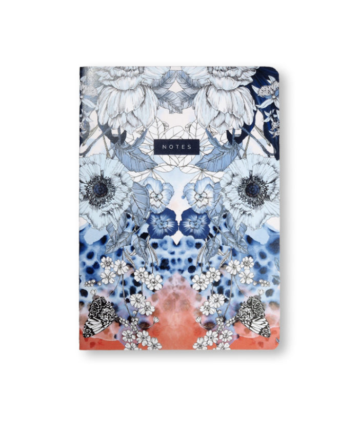 A5 printed card cover notebook