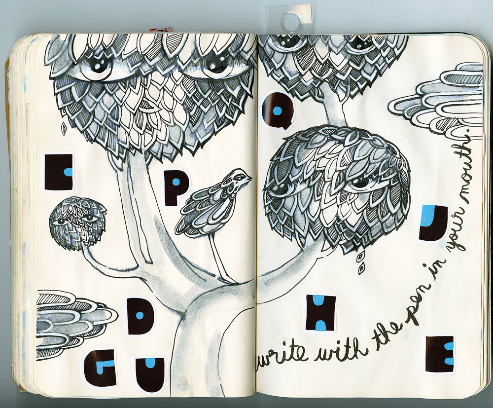 Natalia Platonova notebook art-04