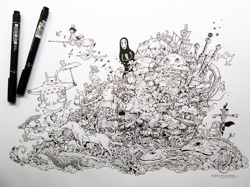 hayao_miyazaki_tribute_by_kerbyrosanes