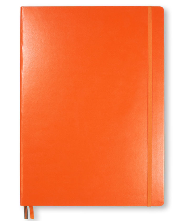 A4 Orange Leuchtturm1917 slim master