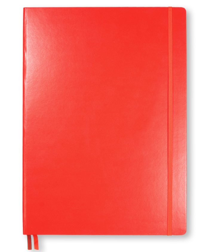 A4 Red Leuchtturm1917 slim master