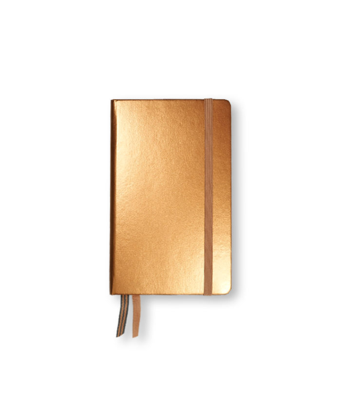 A6 Copper Metallic Leuchtturm Hardback
