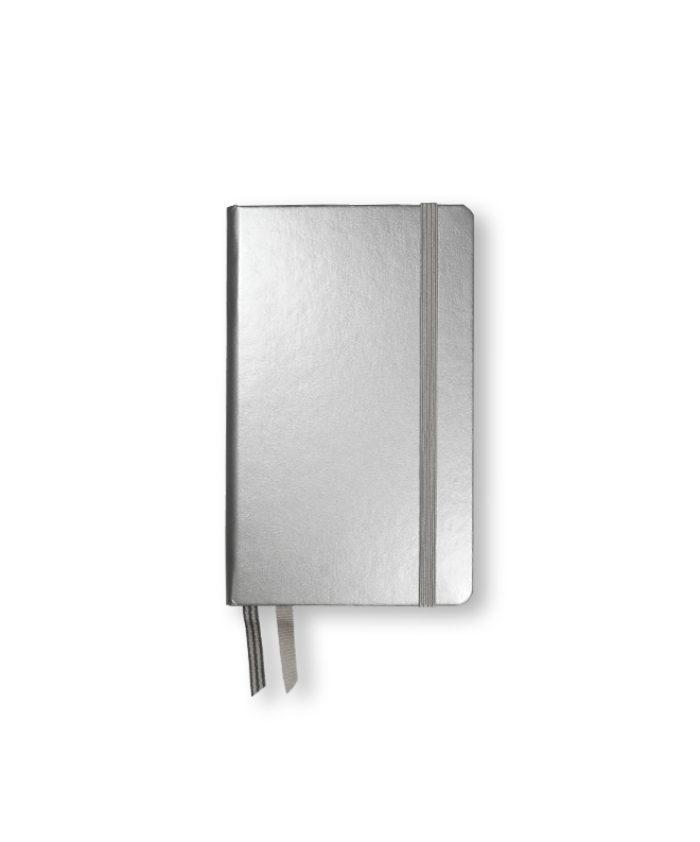 A6 Silver Metallic Leuchtturm Hardback