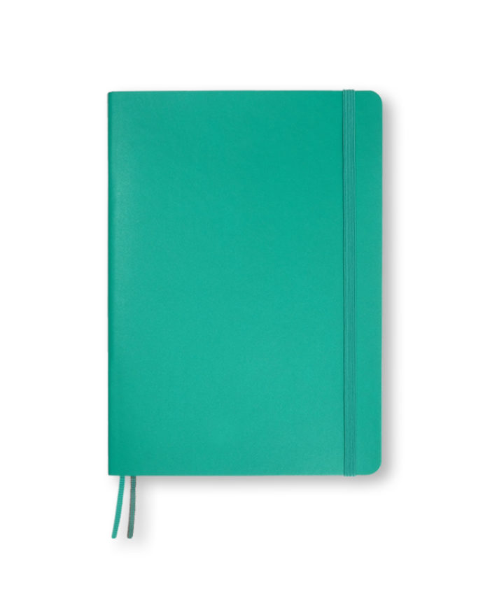 A5 Leuchtturm1917 Emerald softcover weekly planner