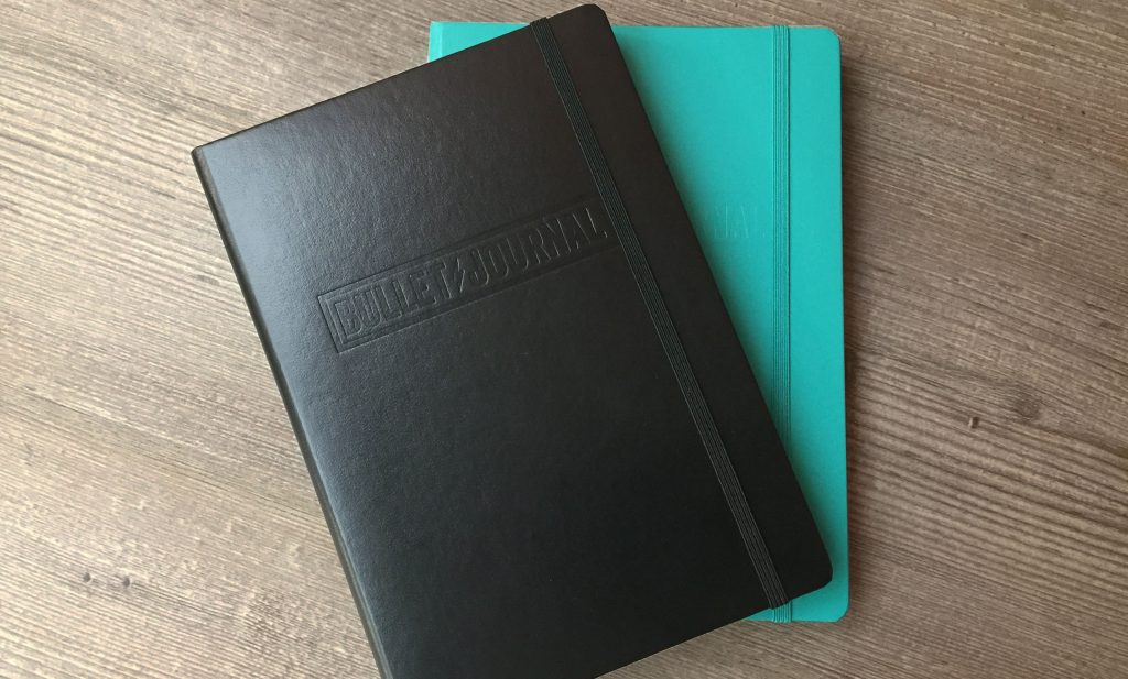 Take Pride in Prose - a Bullet Journal notebook could be a reason to