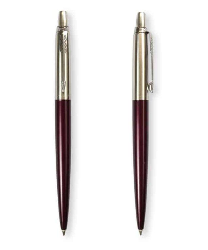 Portobello Purple Parker Metallic Jotter