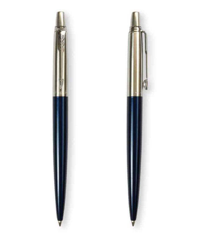 Royal Blue Parker Metallic Jotter