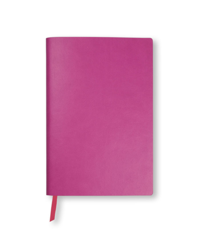 A5 Magenta Duo Softcover