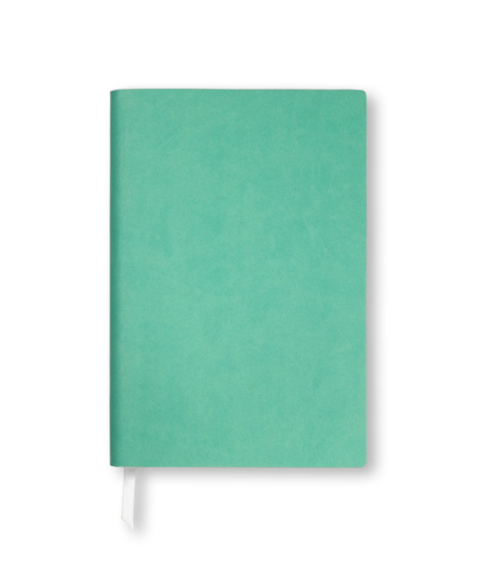 A5 Peppermint Green Duo Softcover