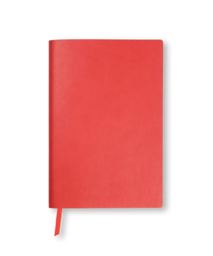 A5 Tomato Red Duo Softcover