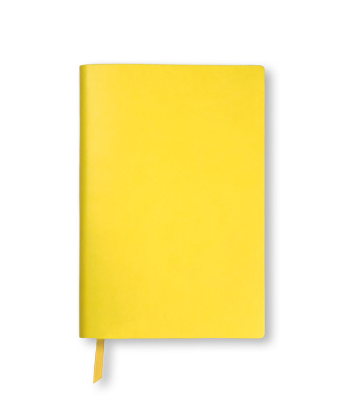 A5 Yellow Duo Softcover