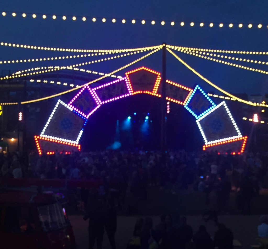 Norman Jay on the mainstage at Dreamland