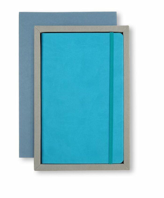 A5 Blue/Grey Castelli tray case