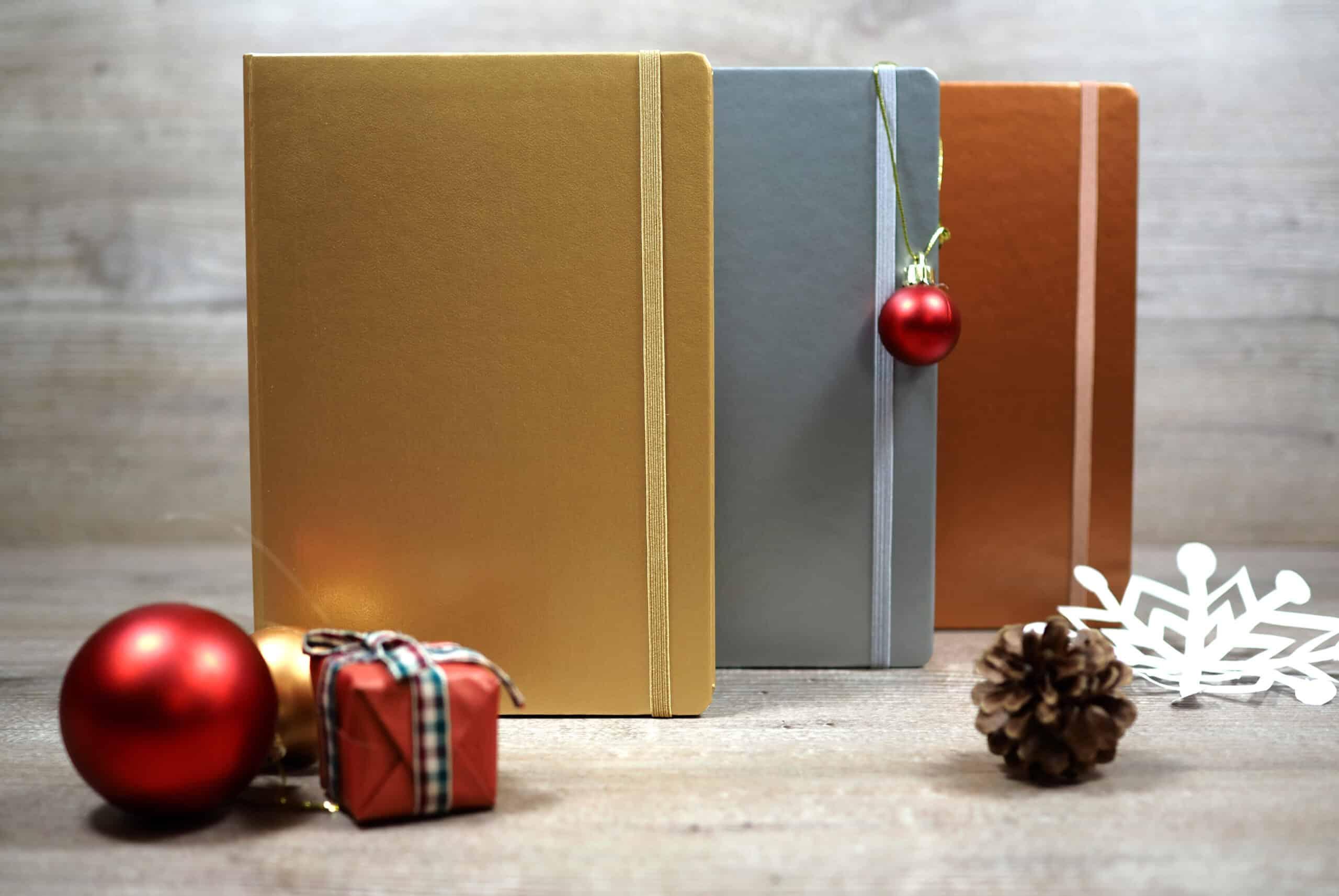 Leuchtturm Metallic notebooks - perfect for seasonal gift buying
