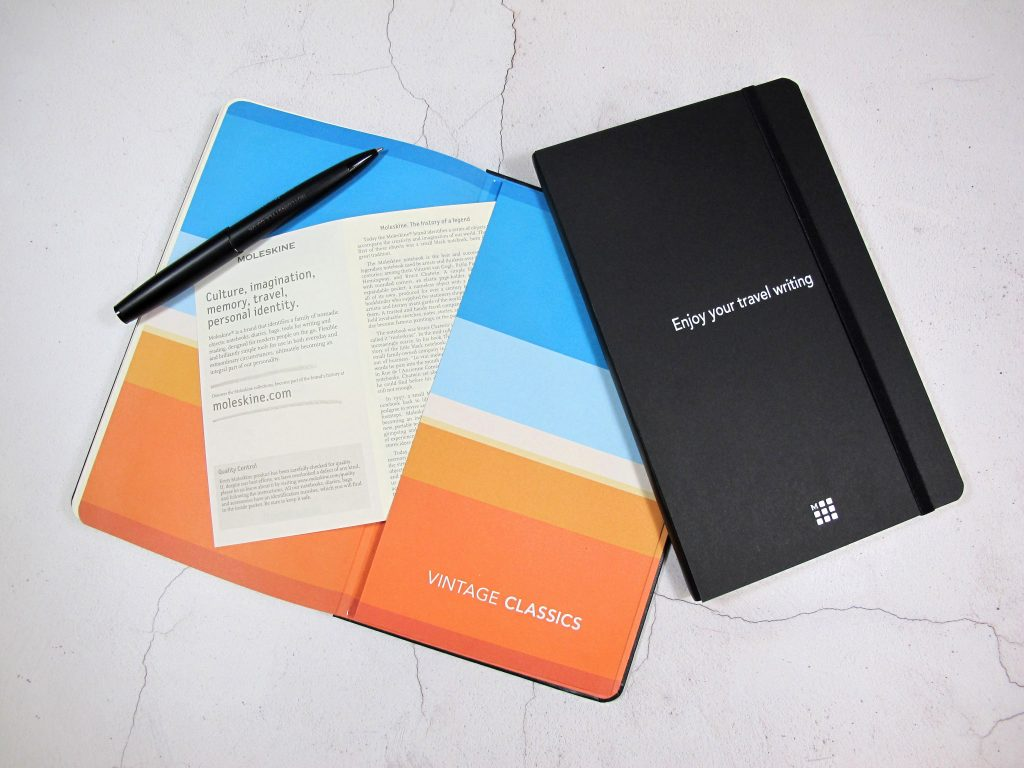 The Songlines Moleskine edition