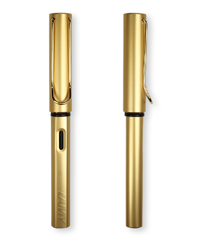 Lamy Gold LX Fountain Pen