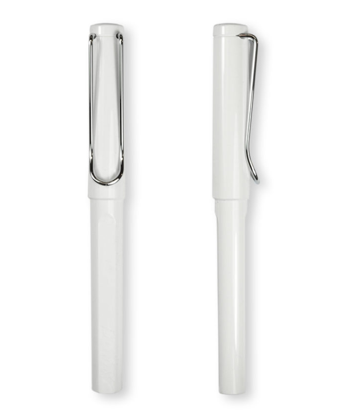 Lamy Safari White Rollerball Pen